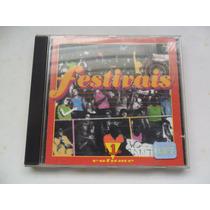 Festivais Volume 1 Cd Mpb Globo Disk Vários