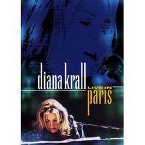 Dvd Diana Krall Live In Paris Novo Original Nfe