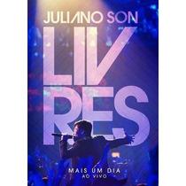Livres - Dvd Juliano Son - Mais Um Dia - Original
