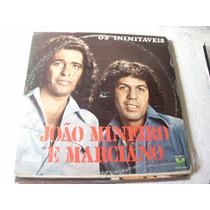 Lp João Mineiro E Marciano Inimitáveis, Vol 7