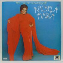 Lp Angela Maria - Os Mais Famosos Tangos - 1991 - Beverly