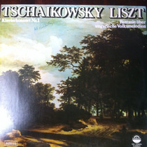 Lp Vinil Tachaikovsky E Liszt