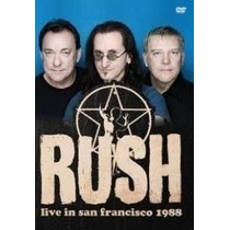Dvd Rush - Live In San Francisco 1988 (novo)