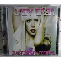 Kit Cd + Dvd Lady Gaga Glastonbury Festival Lacrado