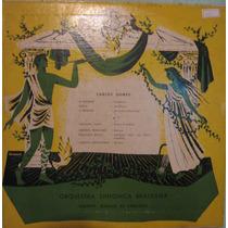 Orquestra Sinfônica Brasileira - Carlos Gomes Lp Importado