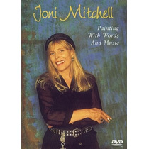 Dvd Joni Mitchell - Painting With Words And Music