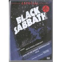 Black Sabbath 2 Shows Em 1 Dvd Dvd Raro Original Novo Lacra
