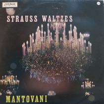 Lp - Álbum De Valsas De Strauss - Mantovani - Vinil Raro