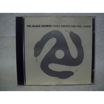 Cd The Black Crowes- Three Snakes And One Charm- Importado