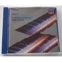 Cd Brahms - Piano Concerto No 2 - Ashkenazy - Mehta