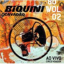 Cd: Biquini Cavadão 80 Volume 2- Ao Vivo- Novo