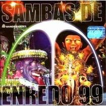 Cd - Sambas De Enredo Do Rio De Janeiro - Carnaval 1999