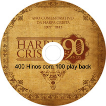 Cd Hinos Harpa Cristã Com Play Back