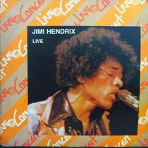 Lp - Jimi Hendrix - Live In Concert - Vinil Raro