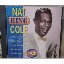 Nat King Cole - Cd 3 - Usado/importado Portugal