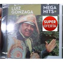 Cd Luiz Gonzaga Mega Hits (original Lacrado) Sonymusic 2014