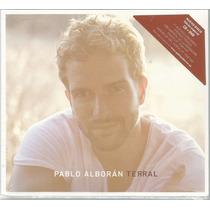 Cd+dvd Pablo Alboran - Terral Deluxe [+faixa C Ricky Martin]