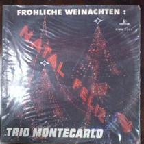 Lp Vinil Trio Montecarlo Frohliche Weinachten