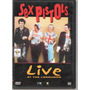 Dvd Sex Pistols Live At The Longhorn