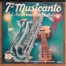 Lp (034) Vinil - Gaúchos - 7° Musicanto Sul-americano