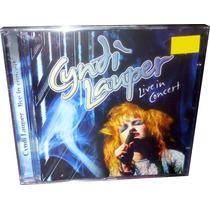 Cd Cyndi Lauper Raríssimo Lacrado = Live In Paris 1987 Cindy