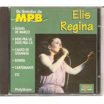 Cd Elis Regina - Os Grandes Da Mpb / Frete Gratis
