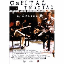 Dvd Capital Inicial - Acústico Mtv (dvd Original E Lacrado)