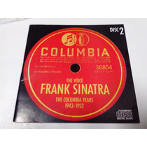 Cd Frank Sinatra, The Voice,columbia Years- 1943-1952 Disc 2