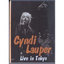 Cyndi Lauper Live In Tokyo Cd Raro Original Novo Lacrado !!!