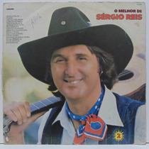 Lp Sérgio Reis - O Melhor De Sérgio Reis - 1985 - Som Livre