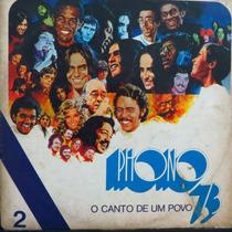 Lp - Phono 73 - O Canto De Um Povo - Manifesto Vinil Raro