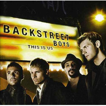 Cd Backstreet Boys This Is Us - Usa
