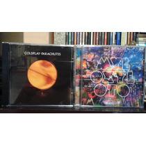 Cd Coldplay Parachutes Ou Mylo Xyloto Novo