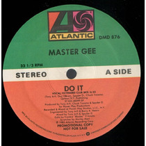 Master Gee Do It 12 Mix Importado 1985 Electro Hip Hop