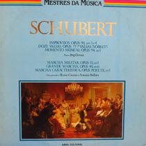 Lp - Schubert - Improvisos - Doze Valsas - Moment Vinil Raro
