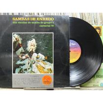 Sambas De Enredo Escolas Samba Grupo 1 Lp Top Tape 1978