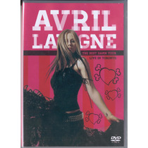 Avril Lavigne Live In Toronto Dvd Raro Original Novo Lacrado