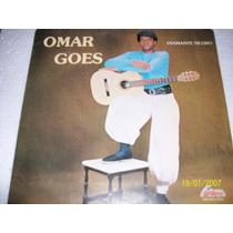 Lp Vinil Omar Goes. Diamante Negro. Gaucho Autografado