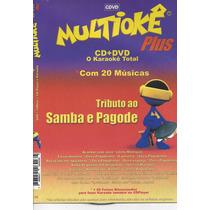 Dvd Original Multiokê Tributo Ao Samba E Pagode (cx 48)