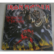 Iron Maiden The Number Of The Beast Lp Selado England 2014 +