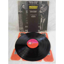 Midnight Cowboy Lp Nacional Usado Trilha Do Filme 1969 Mono