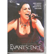 Dvd Evanescence - Live In Germany 2007