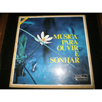 Box Lp Música Para Ouvir E Sonhar, 8 Discos, Ano 1981