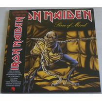 Iron Maiden Piece Of Mind Lp Picture Disc Capa Dupla 2012