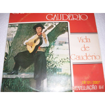 Lp Vinil Carlinhos Gauderio Autografado. Gaucho!