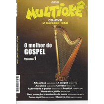Dvd Original Multiokê O Melhor Do Gospel Vl.1