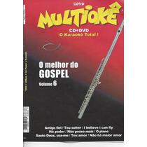 Dvd Original Multiokê O Melhor Do Gospel Vl.6