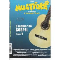 Dvd Original Multiokê O Melhor Do Gospel Vl.5