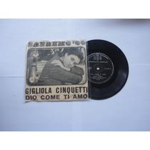 Lp/vinil Compacto Gigliola Cinquetti Sanremo 66