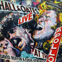 Lp Daryl Hall & John Oates Live At The Apollo Wi Vinil Raro